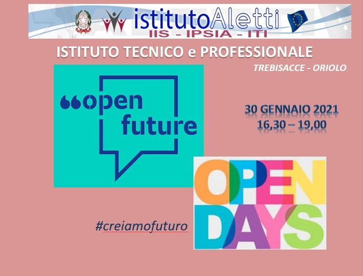 open day 30 gennaio special edition